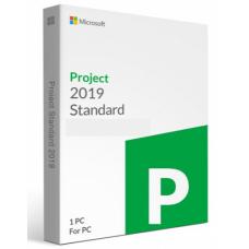 Microsoft Project Standard 2019 Product Key