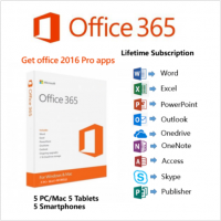 Office 365 Pro Plus Account for 5 Devices