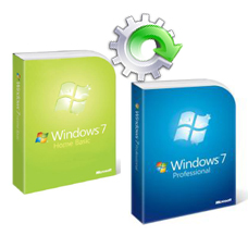 Windows 7 Home Basic to Professional Anytime Upgrade Key