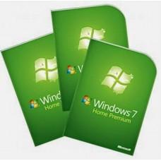 Windows 7 Home Premium 32/64 bit Online 3PCs Product Key