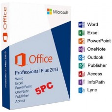 Microsoft Office 2013 Professional Plus 5 User Product Key