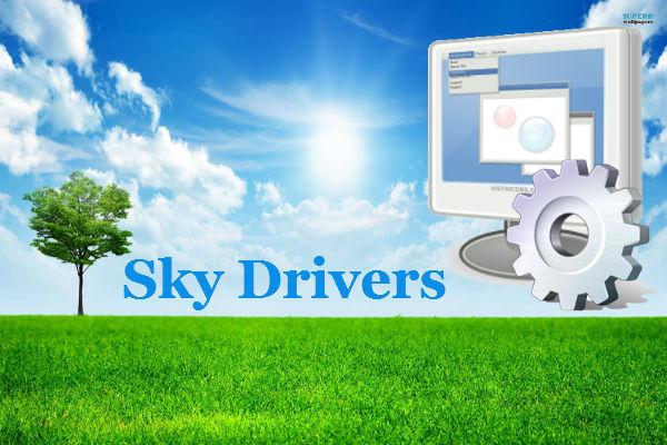 download sky driver windows 7