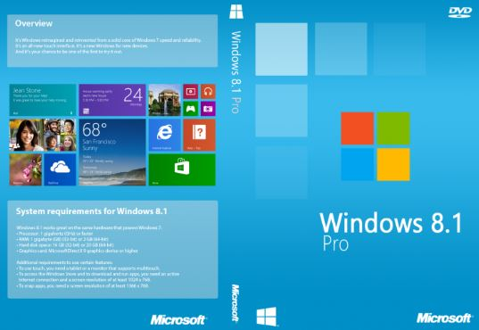 Windows 8.1 Pro 32/64 Bit Official ISO Free Download
