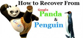How to Recover from Google Panda and Penguin Updates Algorithm