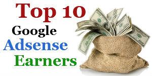 Top-10-Google-Adsense-Earners-blog