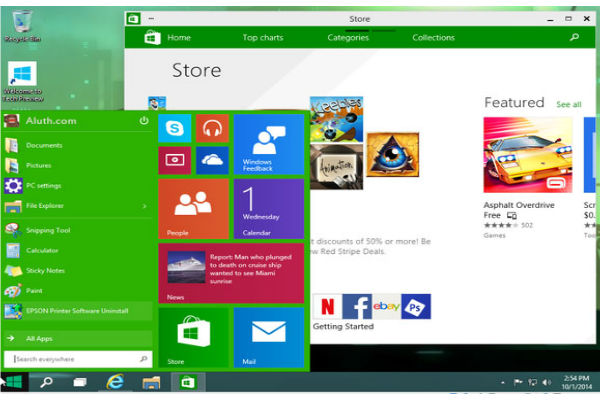 windows 10 apps store