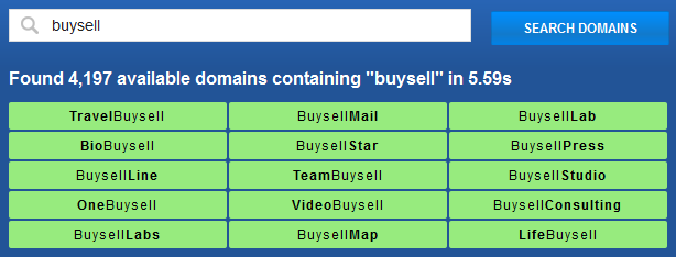 domain searching tools