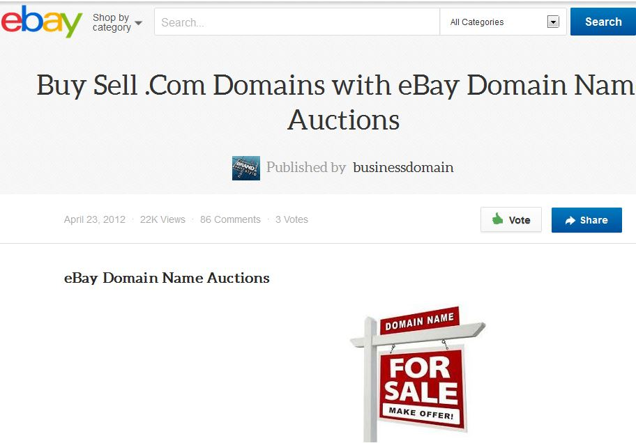 want to sell your domain?
