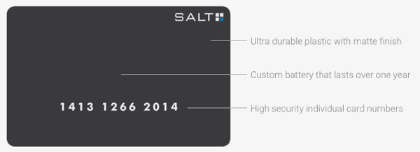 salt security relief card technology