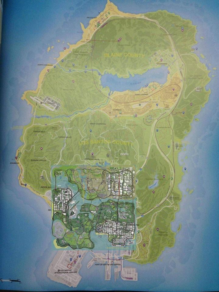 GTA-Five-Full-Map